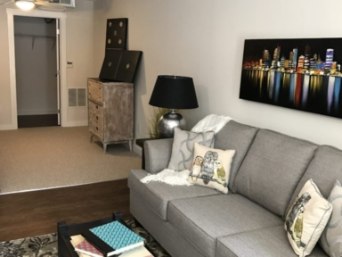 The Livery Apartments - Living Room